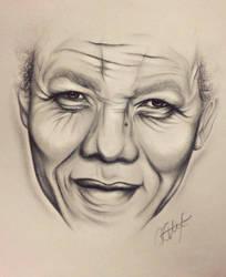 Mandela by alexaink
