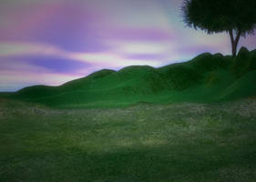 Lake Landscape Background 36 by Lil-Mz