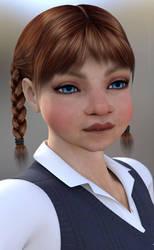 Schoolgirl by Lil-Mz