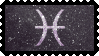 Zodiac Stamp: Pisces by lesserpandas