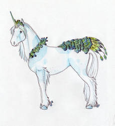 Peacock Horse by gothic180