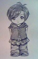 Chibi: Sketch by Azuriia