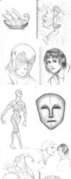 Sketch Dump by Rogue-Android