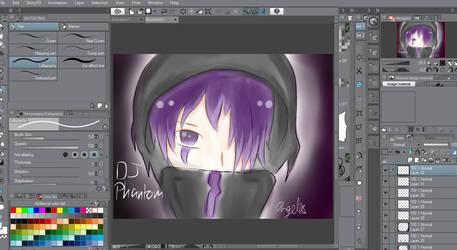 DJ Phantom by Konokaru