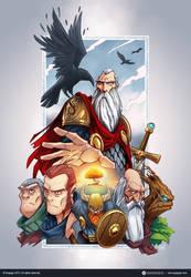 Viking God by madebydori