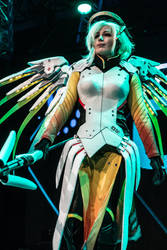 Overwatch Cosplay Mercy by Ciwiel