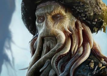 Davy Jones by M1keN