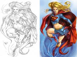 Super Girl by IvannaMatilla