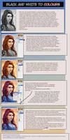 Grayscale to Colours Tutorial by IvannaMatilla