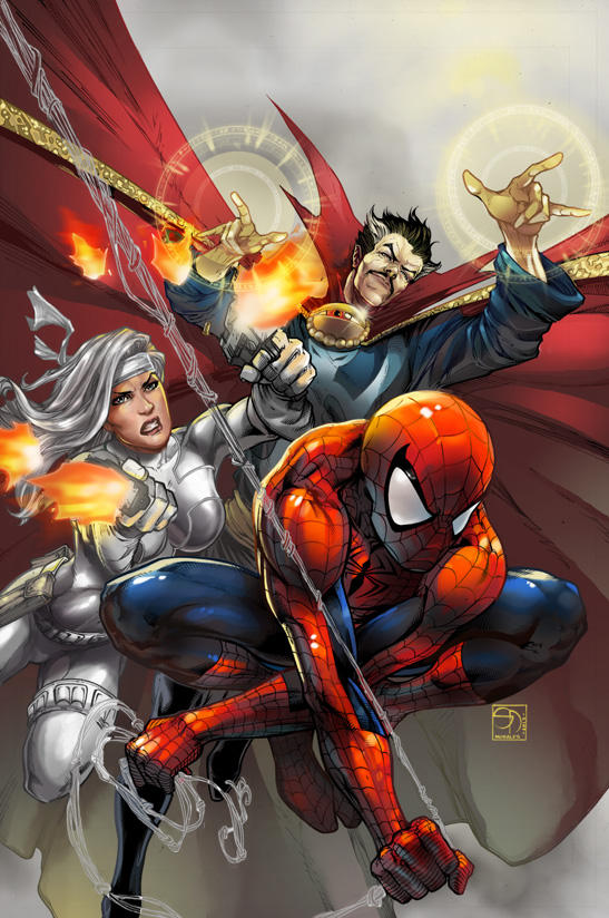 9 - Avenging Spiderman by IvannaMatilla