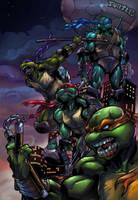 Night of the Ninja Turtles by IvannaMatilla