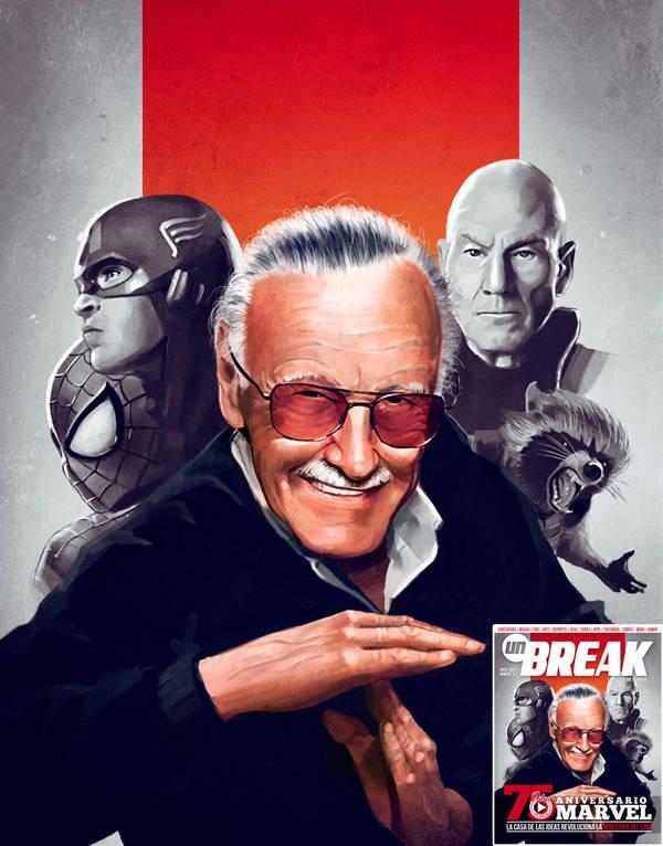 Stan Lee by Joe128