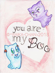 .: You are my boo :. by Raika-chan