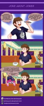 Joke About Jokes by Edowaado