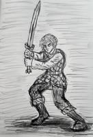Robert Arathorn Sketch by TheRavensBastard39