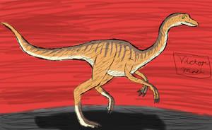 Jurassic June Day 5: Gallimimus by TheRavensBastard39