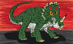 Jurassic June Day 6: Sinoceratops by TheRavensBastard39