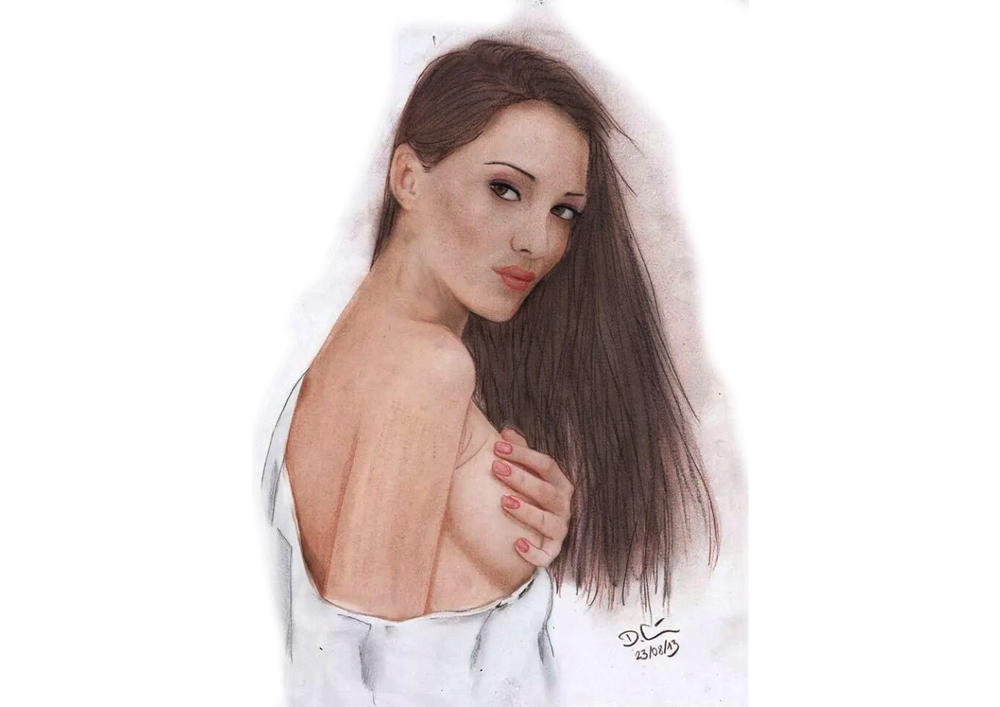 Sinfull topless woman! by daniart-de