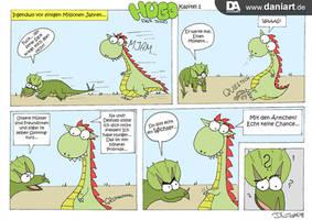 Hugo der Dino erzeahlt seine Geschichte by daniart-de