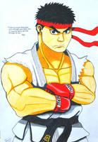 Ryu by sendy1992