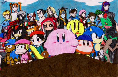 Super Smash Bros. Ultimate: Another World by sendy1992