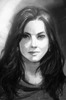 Sketchy random portrait by natebaertsch