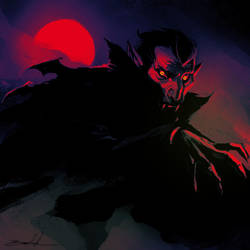 Dracula by natebaertsch