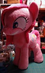 Pinkamena Diane Pie Plushie by AppleDew