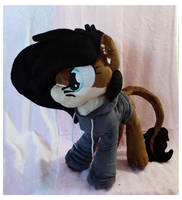 Zira Plushie :OC Commission: by AppleDew