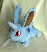 Shiny Male Nidoran Plush :Commission: by AppleDew