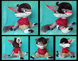 Cryo Plushie :Commission: by AppleDew