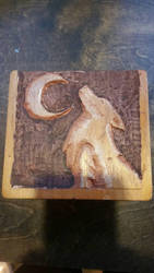 wolf box by sacredstar42