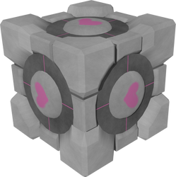Companion Cube by Adreos