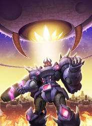 Galvatron's Ambition by zhuyukun
