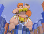 April O'Kon - Queen Kong by Commoddity
