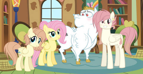 Fluttershy Family by 6SixtyToons6