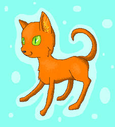 Dorito Cat by NinjaGrape