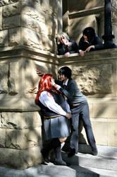 Marauders: Spying on James by Mlarad