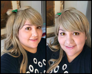 Kotori from Love Live! Make up and wig test by Mlarad