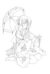 Chobits Drawing by AlexandraCardoso