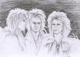 Jareth Triplets by amuletts