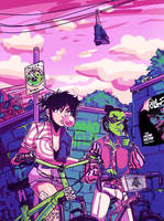 noodle and ace by omoulo