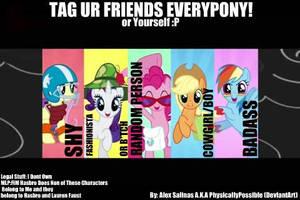 Pony Facehoof Tag by alexsalinasiii