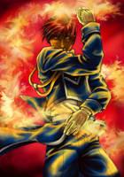 FMA- Flames by Hikaru9