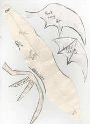Pencil Dragon Plushie Pattern Page2 by MelzyV