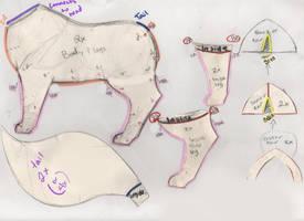 Cat.:Kirara:. Pattern P2+Description+ by MelzyV