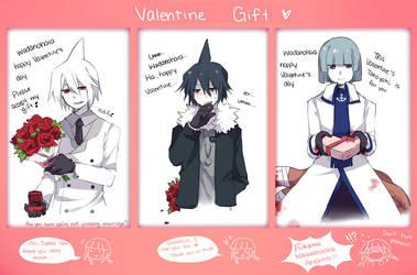 [Wadanohara] Valentine Gift by Mary-ko