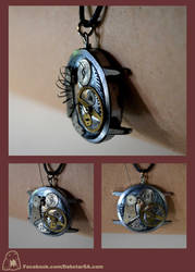 Steampunk Pendant 001 by Dabstar
