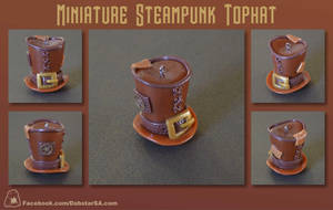Miniature Steampunk Top Hat 002 by Dabstar
