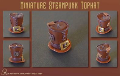 Miniature Steampunk Top Hat 002 by Dabstar